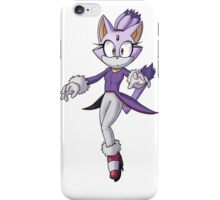 Blaze The Cat - Transparent iPhone Case/Skin