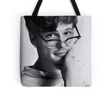 Matthew Gray Gubler with glasses Tote Bag