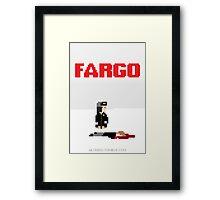 8-Bit FARGO Framed Print