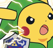 Linkachu Sticker