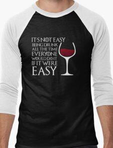 Game of Thrones - Drunk Men's Baseball ¾ T-Shirt