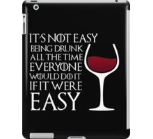 Game of Thrones - Drunk iPad Case/Skin