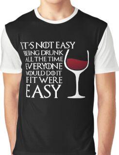 Drunk Graphic T-Shirt