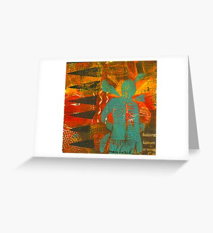 Color Me Steadfast Greeting Card