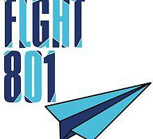Flight 801: Blue by Dianthus