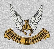 "SAAF 2 Squadron ""Sursam Prorusque"" Kids Tee"