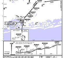 Aviation Chart KJFK - New York by Filippos Filippoglou