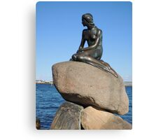 Emotional Depths: The Little Mermaid (Copenhagen) Canvas Print