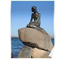 Emotional Depths: The Little Mermaid (Copenhagen) Poster