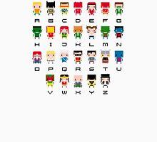 Superhero Alphabet Unisex T-Shirt