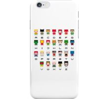 Superhero Alphabet iPhone Case/Skin