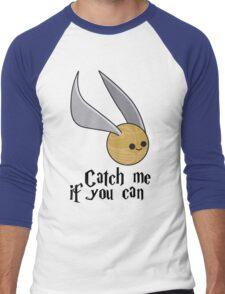 Catch me if you can! Men's Baseball ¾ T-Shirt