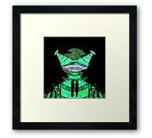 one x file Framed Print