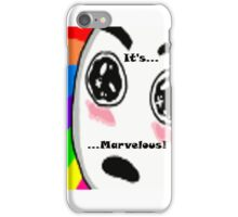 ...Marvelous... Amazed face Rainbow iPhone Case/Skin