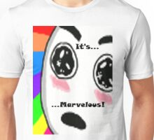 ...Marvelous... Amazed face Rainbow Unisex T-Shirt