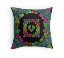 Design 7 Throw Pillow