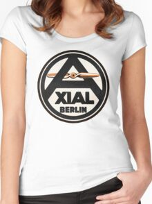 Axial Propellor Logo Women's Fitted Scoop T-Shirt