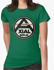 Axial Propellor Logo Womens Fitted T-Shirt