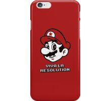 Viva la Resolution iPhone Case/Skin
