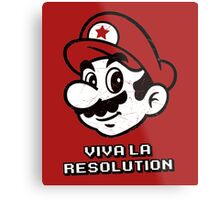 Viva la Resolution Metal Print