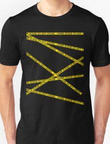 Crime Scene Do Not Cross The Line Unisex T-Shirt