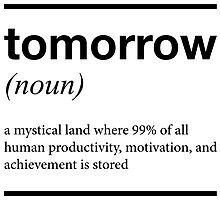 tomorrow T shirt by spoll