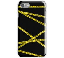 Crime Scene Do Not Cross The Line iPhone Case/Skin