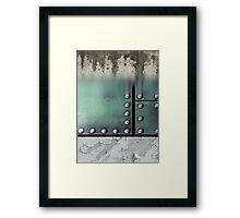 iron strong Framed Print