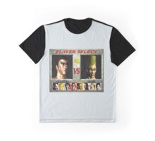 Tekken 1 Character Select  Graphic T-Shirt