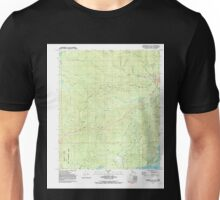 USGS TOPO Map Alaska AK Fairbanks D-3 SE 353672 1992 25000 Unisex T-Shirt
