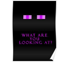What are you looking at? Poster