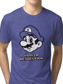 Viva la Resolution Tri-blend T-Shirt