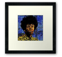SHIRLEY CHISHOLM-9 Framed Print