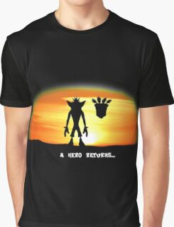 Crash Bandicoot - The Return Graphic T-Shirt