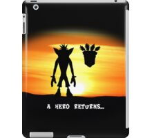 Crash Bandicoot - The Return iPad Case/Skin