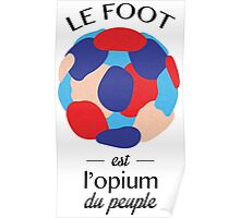 Marx & foot Poster