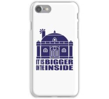 Free Company House is Bigger on the Inside iPhone Case/Skin