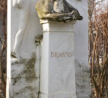 Grave Of Johannes Brahms Sticker