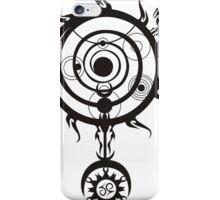 Spell circle iPhone Case/Skin