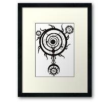 Spell circle Framed Print