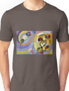 Robert Delaunay - Circular Forms . Abstract painting: abstraction, geometric, expressionism, composition, lines, forms, creative fusion, music, kaleidoscope, illusion, fantasy future Unisex T-Shirt