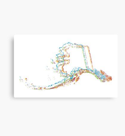alaska pride blur Canvas Print