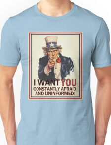 Afraid & Uniformed T-Shirt