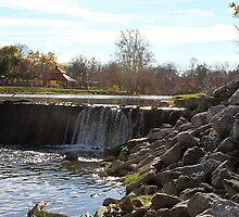 Dundee, MI: Over the Dam by ACImaging
