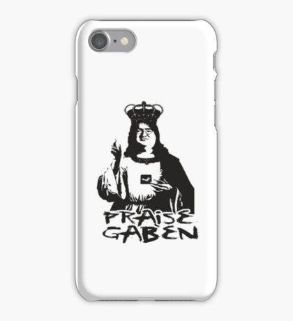 Praise Lord Gaben iPhone Case/Skin