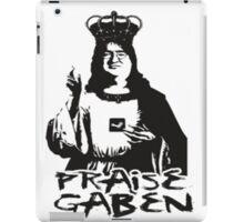 Praise Lord Gaben iPad Case/Skin