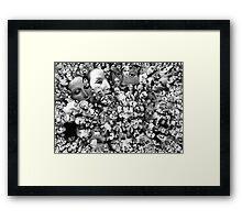 Retina. Framed Print