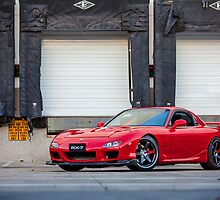 Mazda RX7 by timscribbles