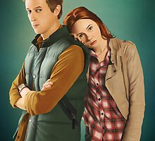 Rory and Amy - 'The Doctor's Wife' (Doctor Who) by eclecticmuse