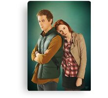 Rory and Amy - 'The Doctor's Wife' (Doctor Who) Canvas Print